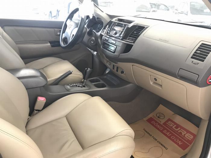 Bán xe Fortuner V sx 2012 màu bạc , giá còn giảm tiếp , xe bảo hành 2 tháng/3000km
