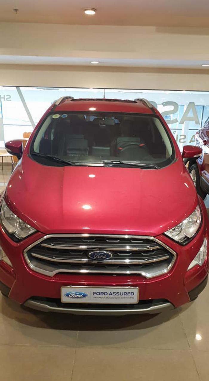 Ford ECOSPORT TITANIUM 2018 ĐỎ XE ĐẸP CHO MỌI NGƯỜI