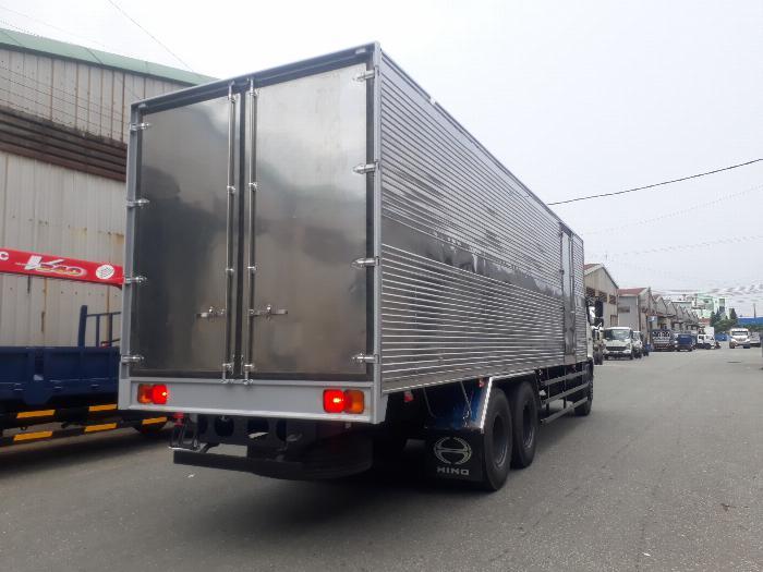 Xe tải hino 15 tấn 3 chân thùng dài 9.1 m trả góp giá rẻ, Xe tải thùng kín 3 chân có sẵn hỗ trợ ngân hàng lãi suất thấp 1