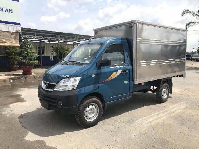 Xe tải Thaco Towner 990, 100% trước bạ trong tháng 10. Hỗ trợ trả góp 70%