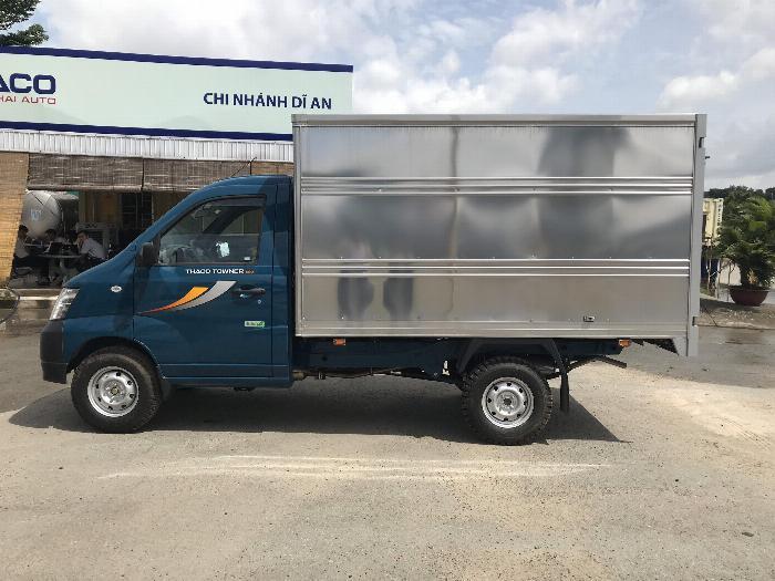 Xe tải Thaco Towner 990, 100% trước bạ trong tháng 10. Hỗ trợ trả góp 70% 5