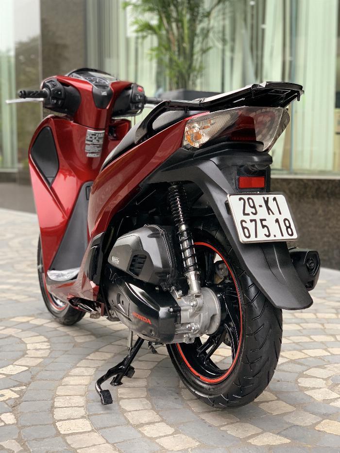 Cần bán SH Việt 150 ABS cuối 2017 màu Đỏ biển Vip