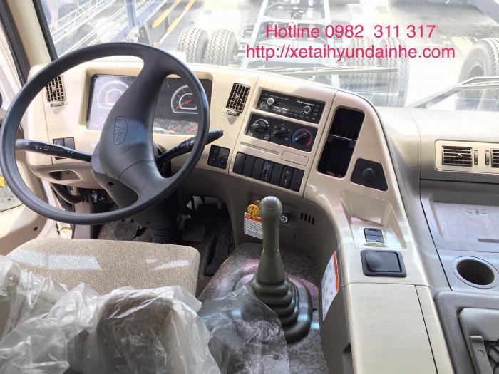 Xe đầu kéo daewoo 2 cầu 40 tấn mới nhất nhập khẩu nguyên chiếc giá tốt 3