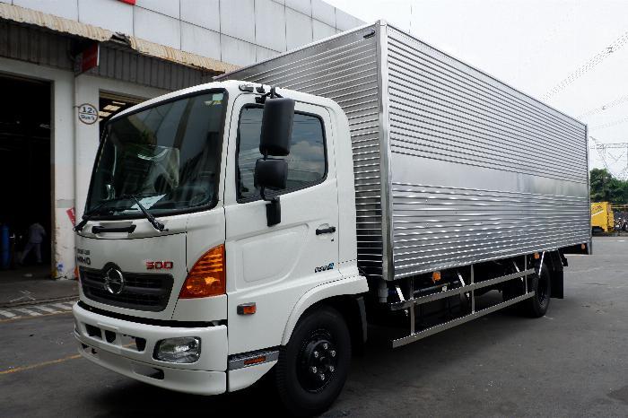 Xe Thùng Kín HINO Inox 6 Tấn Vay 80% LS Thấp, Thùng Dài 6.650 mm, Hino 500 FC9JLTC 3