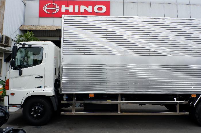 Xe Thùng Kín HINO Inox 6 Tấn Vay 80% LS Thấp, Thùng Dài 6.650 mm, Hino 500 FC9JLTC 4