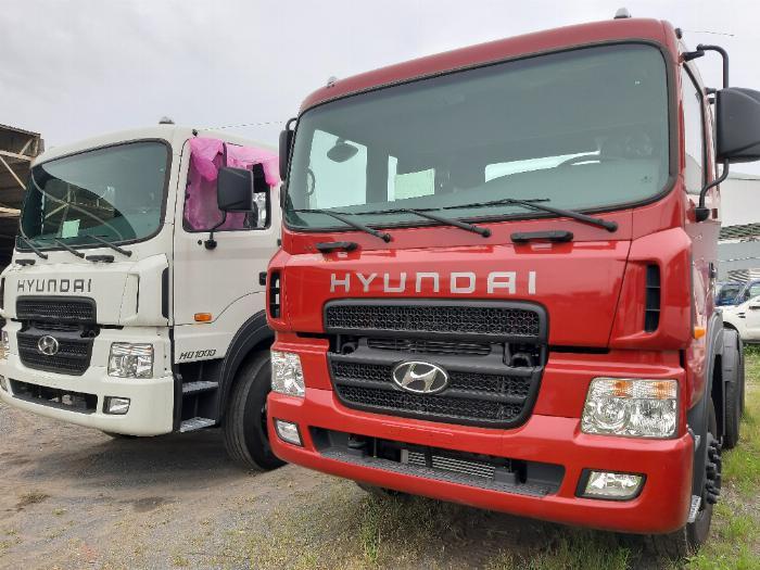 Giới thiệu xe đầu kéo Hyundai