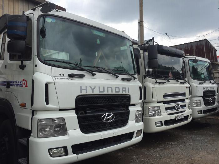 Tư vấn mua xe đầu kéo Hyundai cũ