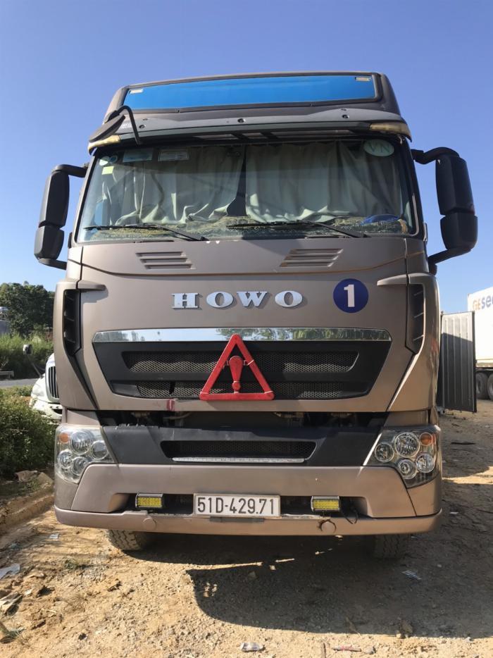 Bán đầu kéo HOWO 375 - 2018