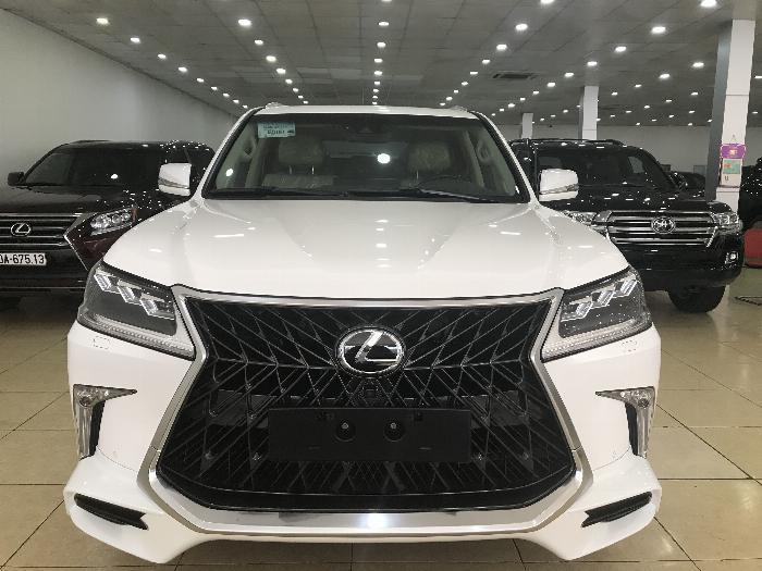 Bán Lexus LX570 Nhập Ttrung đông ,sản xuất 2016,đăng ký 2019,1 chủ từ đầu ,xe đẹp ,biển Hà Nội