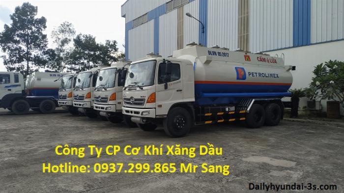 Bán xe bồn Hino FM 20 khối 2019 giá rẻ tại TPHCM / Xe bồn chở xăng dầu Hino 20 khối