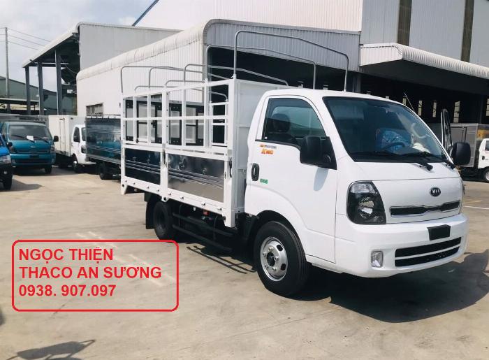 Bán xe tải KIA K200-máy HUYNDAI D4CB tăng áp-Thùng dài 3m2-tải trọng 1t9-Sơn màu theo yêu cầu-hổ trợ trả góp 70%