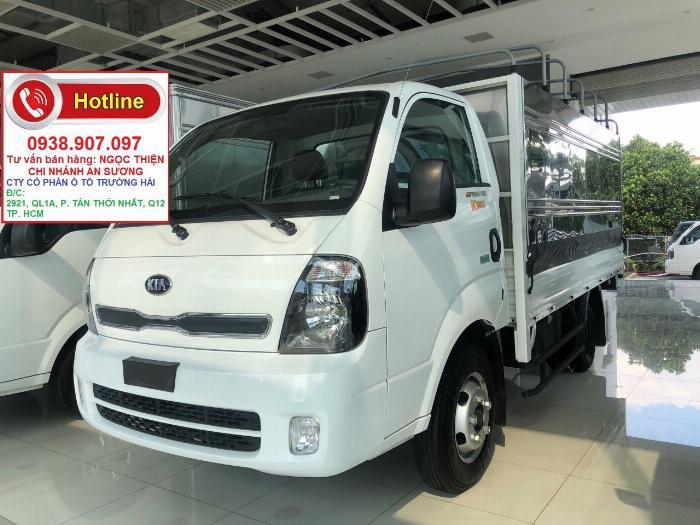 Xe tải Frontier K250 tải trọng 2T49, máy Huyndai, Trả trước 30%