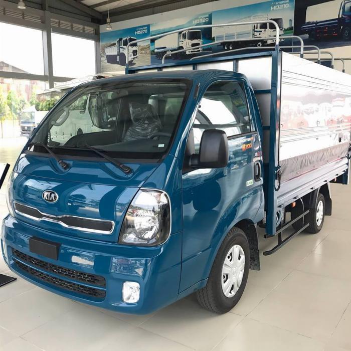 Bán xe tải 2t49 hiệu KIA k250, máy huyndai, thùng dài 3.5m trả góp 70%