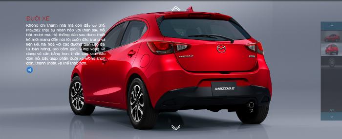 Mazda 2 nhập khẩu Thái Lan tại Phú Yên.