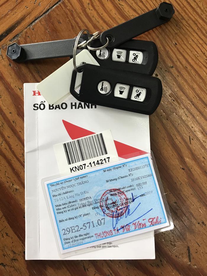 Cần bán SH Việt 150 ABS 9/2019 chạy 700km - mới tinh 0