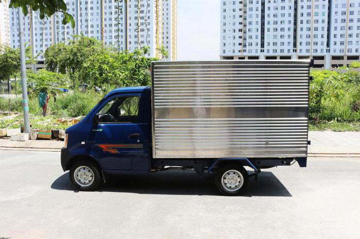 Bán xe Tải Dongben Thùng Kín 770kg Giá Khét Cực Hỗ TRợ Vay Vốn 80% Chỉ Hơn 69 TRiệu Nhân Xe