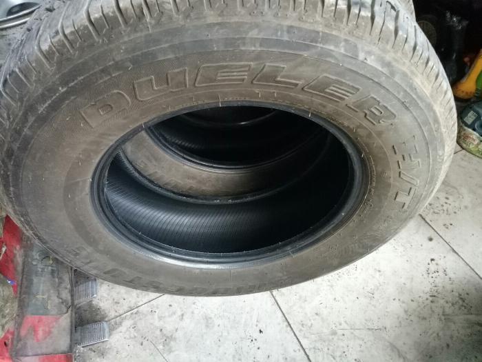 Lốp bridgestone 265/65r17 99,9% chưa vá, bảo hành như mới 2