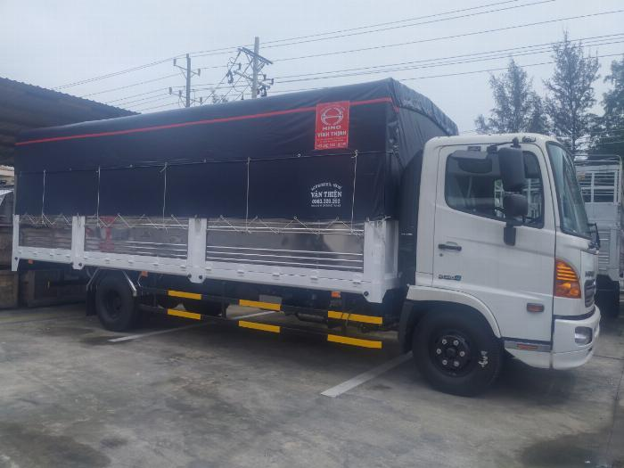 Xe Tải HINO FC9JLTC -MuiBạt- EURO 4 MỚI 100% 2019