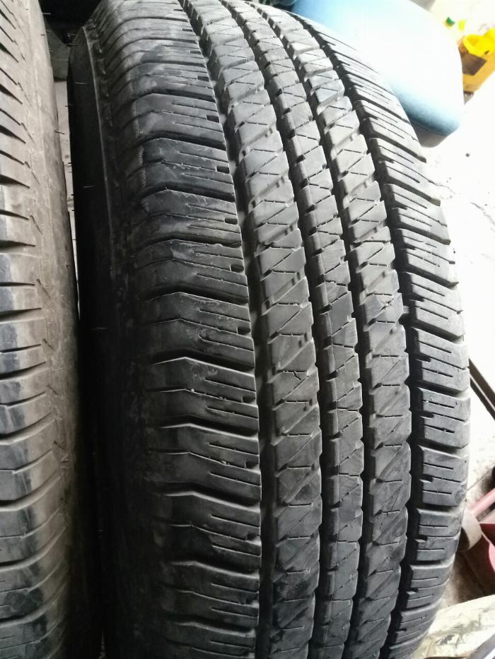 Lốp bridgestone 265/65r17 99,9% chưa vá, bảo hành như mới
