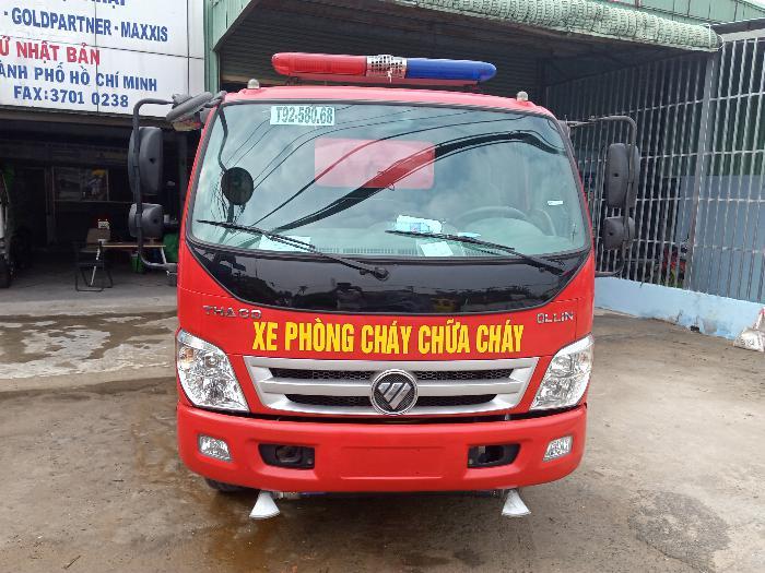 Bán xe chữa cháy, xe cứu hỏa từ 3 đến 12 khối