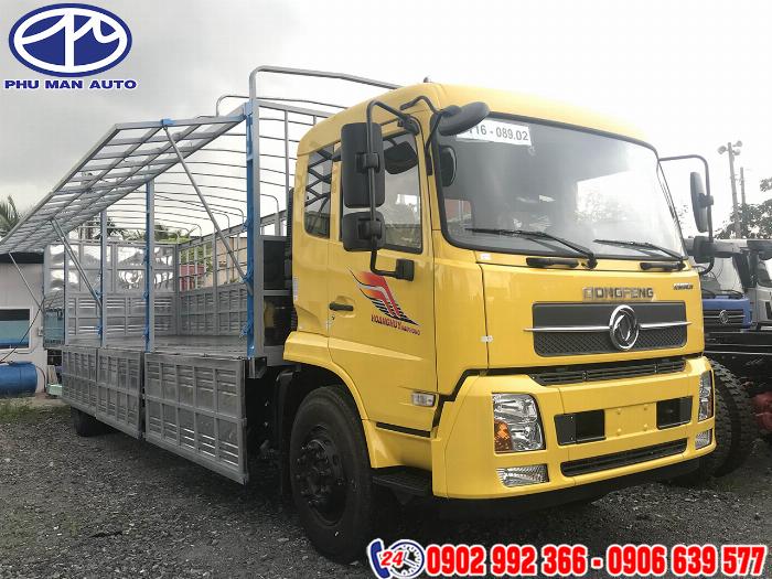 Xe tải dongfeng 8 tấn B180 thùng dài