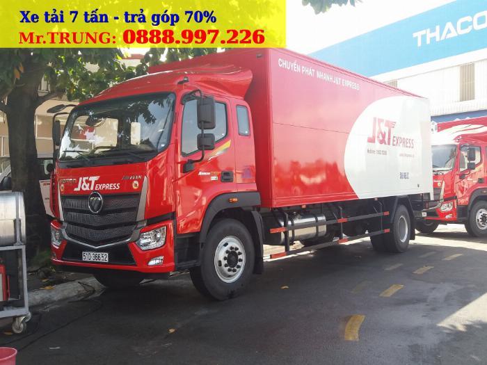 Xe tải OLLIN700, OLLIN720 tải trọng 7 tấn thùng dài