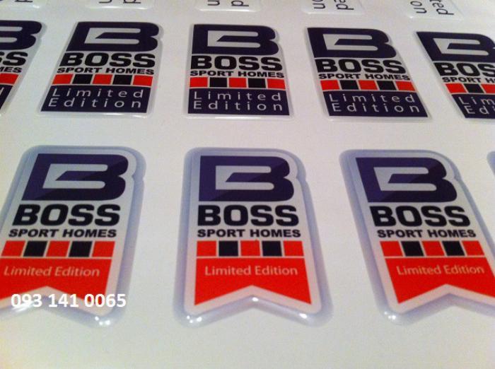 In quà tặng thương hiệu logo phủ epoxy 2