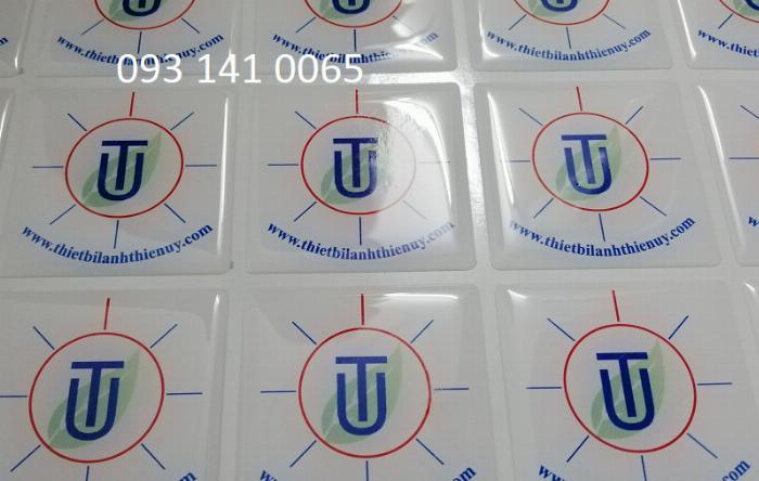 In quà tặng thương hiệu logo phủ epoxy 4