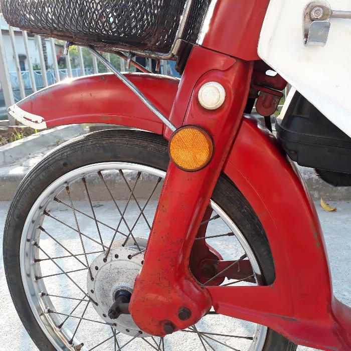 Cub DD Honda màu đỏ Nhật xe nguyên bản biển Hà Nội 4