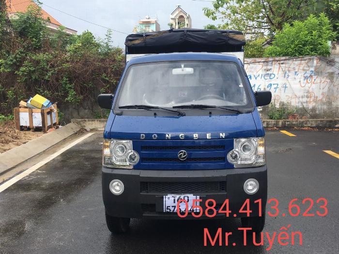 Xe Dongben thùng bạt 810kg Giá Thanh lý cuối năm chỉ 69 Triệu Nhận xe Chạy Hàng Tết