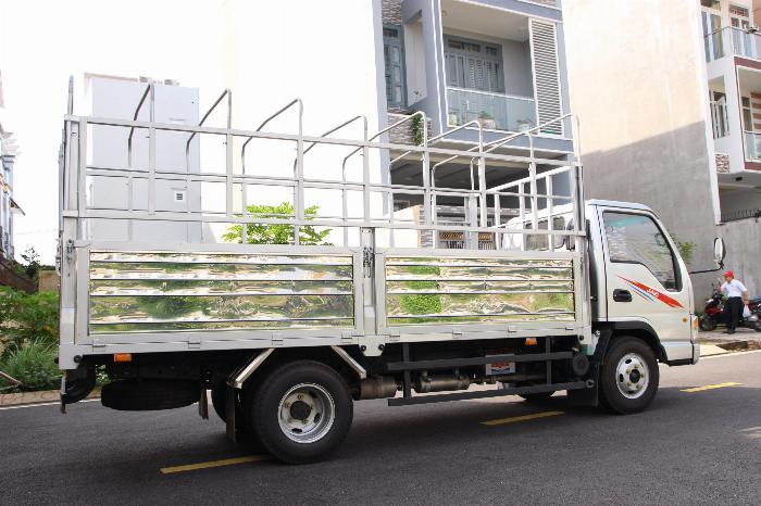 Xe tải JAC 2.4 tấn động cơ ISUZU thùng dài 4.4m. Trả trước 100 triệu 4