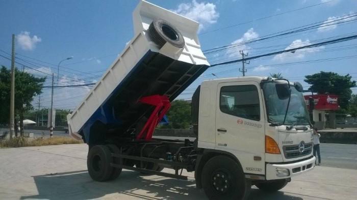 Tìm hiểu xe tải tự đổ, xe ben chở đất, cát, đá