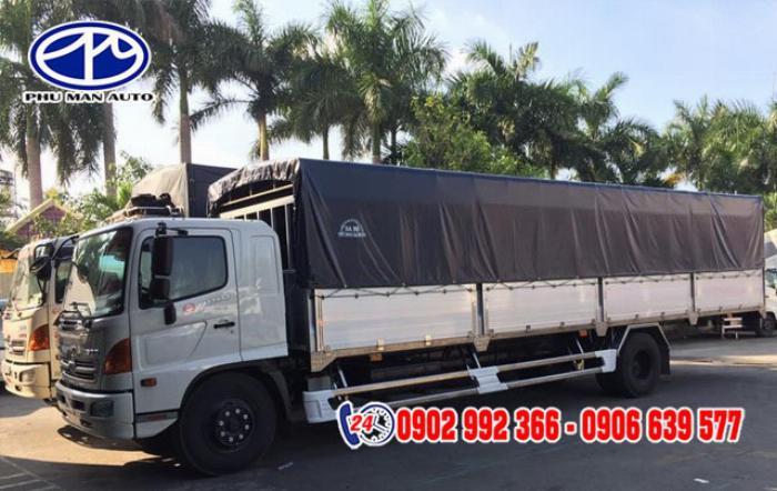 xe tải 7 tấn thung dài - xe tải hino 7 tấn - xe tải faw 7 tấn thùng dài giá rẻ ở đâu? 0