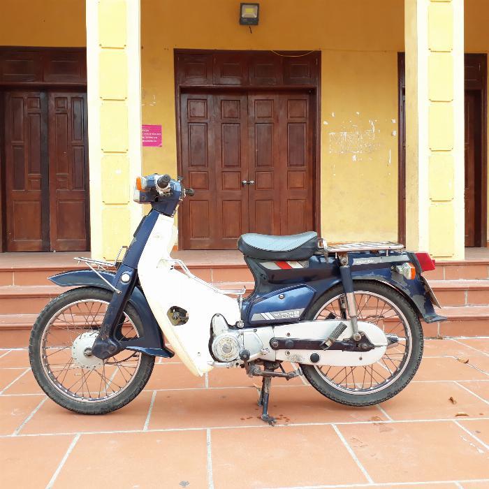 Honda Cub 90cc Nhật nguyên bản biển 4 số Hà Nội 29 0