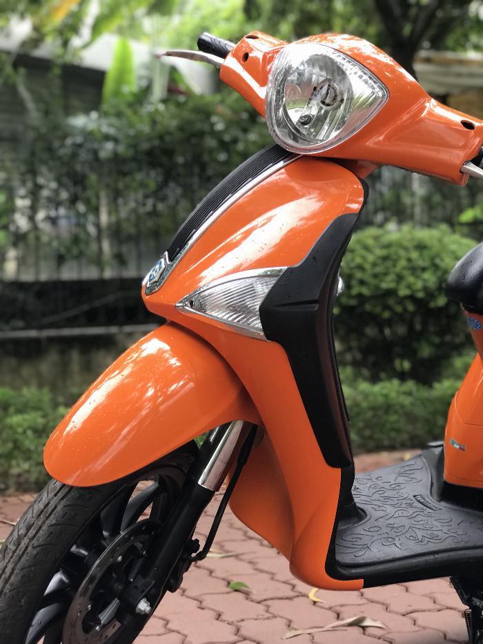 Liberty 125ie Việt Nam 2013 màu Cam, phun xăng IE điện tử