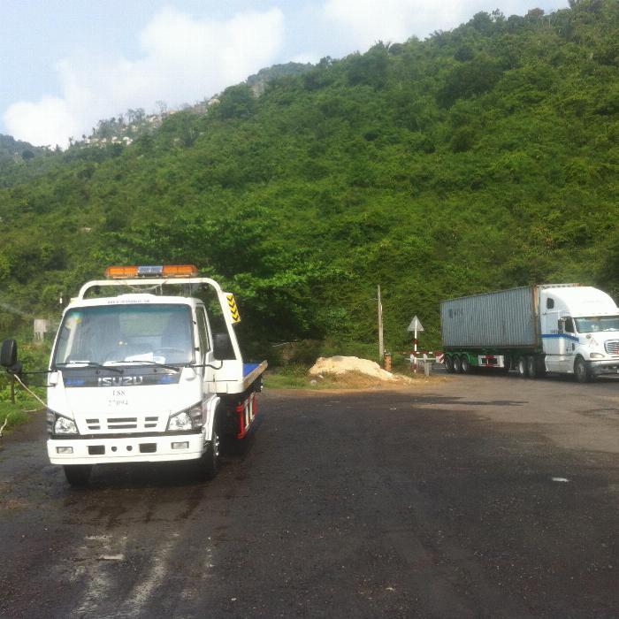 Bán xe cứu hộ giao thông 2 chức năng isuzu nhập khẩu 2