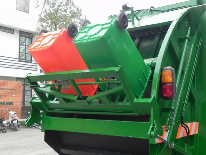Bán xe ép rác, xe chở rác từ 2 khối đến 20 khối 1