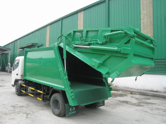 Bán xe ép rác, xe chở rác từ 2 khối đến 20 khối 0