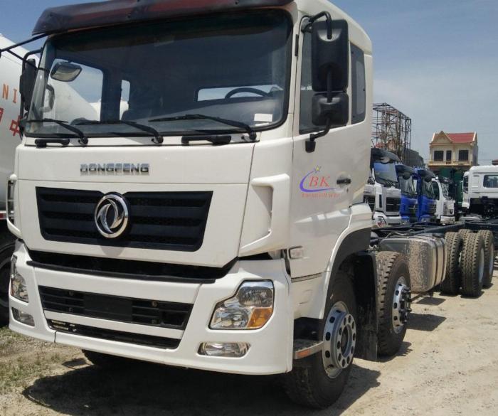 Xe tải Dongfeng 4 chân ga cơ thùng 9m6 giá cực tốt 1