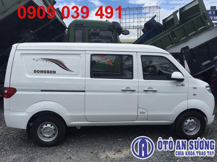 Xe tải Van Dongben 5 chỗ 490kg Trả Trước 30tr Nhận Xe Ngay