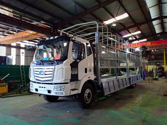 Bán nhanh xe tải 8 tấn thùng dài - Model 2019, trả trước 300 nhận xe 10