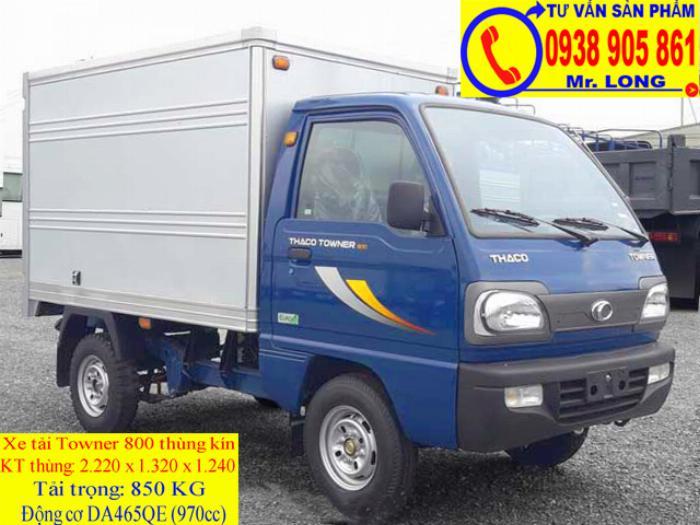 Xe tải Towner 800 tải trọng 500kg mới 100% trả góp 70% tại Đà Nẵng 2