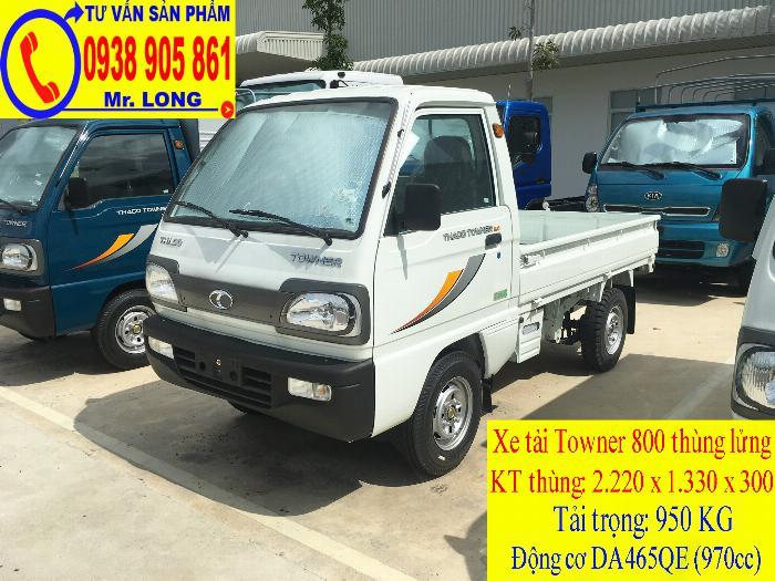 Xe tải Towner 800 tải trọng 500kg mới 100% trả góp 70% tại Đà Nẵng 6