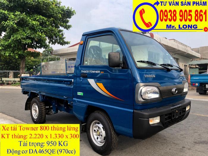 Xe tải Towner 800 tải trọng 500kg mới 100% trả góp 70% tại Đà Nẵng 5