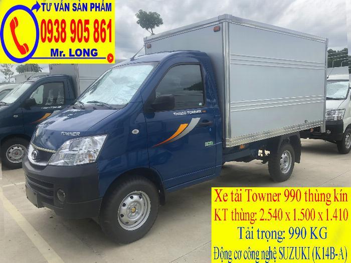 Xe tải Towner 990 tải trọng 990 kg mới 100% trả góp 70% tại Đà Nẵng 2