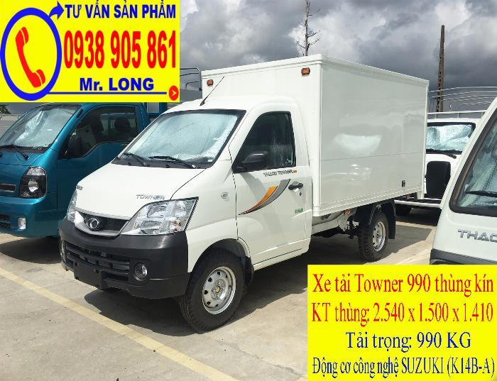 Xe tải Towner 990 tải trọng 990 kg mới 100% trả góp 70% tại Đà Nẵng 4