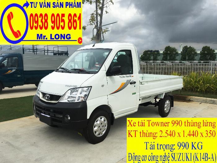 Xe tải Towner 990 tải trọng 990 kg mới 100% trả góp 70% tại Đà Nẵng 6