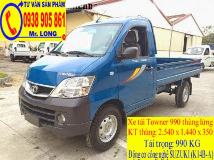 Xe tải Towner 990 tải trọng 990 kg mới 100% trả góp 70% tại Đà Nẵng 5