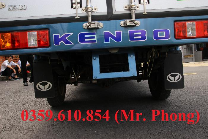 XE TẢI NHỎ KENBO 990kg THÙNG BẠT DÀI 2.6M, TRẢ TRƯỚC 60 TRIỆU NHẬN XE