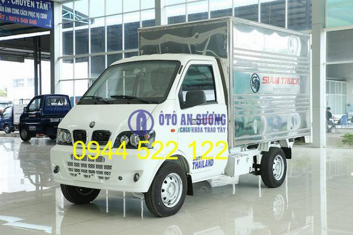 Xe tải Thái Lan SIAMTRUCK giá rẻ Tây Ninh 0